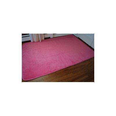 Subotnick Pink Area Rug Rug Size: 5 x 8