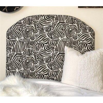 Honn Twin/Twin XL Upholstered�Panel Headboard Upholstery: Black