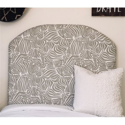 Honn Twin/Twin XL Upholstered�Panel Headboard Upholstery: Gray