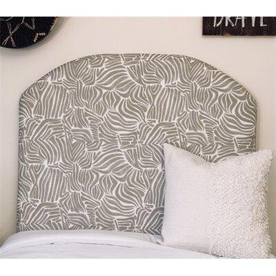 Honn Twin/Twin XL Upholstered�Panel Headboard Upholstery: Gray