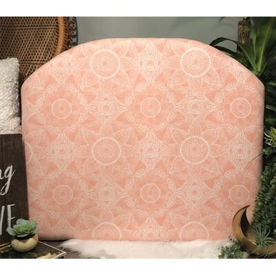 Hoppe Twin/Twin XL Upholstered�Panel Headboard Upholstery: Light Pink