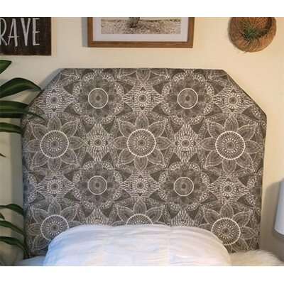 Hoppe Twin/Twin XL Upholstered�Panel Headboard Upholstery: Gray