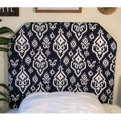 Bainsby Beveled Twin/Twin XL Upholstered�Panel Headboard Upholstery: Navy