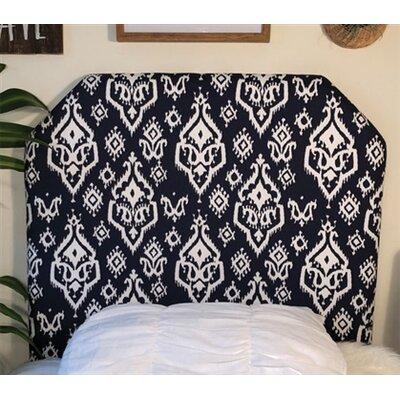 Halsey Twin/Twin XL Upholstered�Panel Headboard Upholstery: Navy