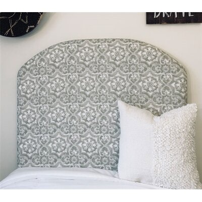 Horan Beveled Twin/Twin XL Upholstered�Panel Headboard Upholstery: Gray
