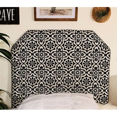 Horan Beveled Twin/Twin XL Upholstered�Panel Headboard Upholstery: Black