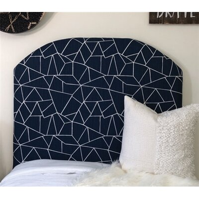 Hostetler Cut Glass Arched Twin/Twin XL Upholstered Panel Headboard