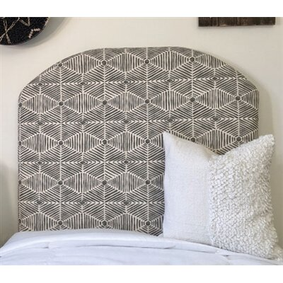 Midhurst Arched Twin/Twin XL Upholstered Panel Headboard
