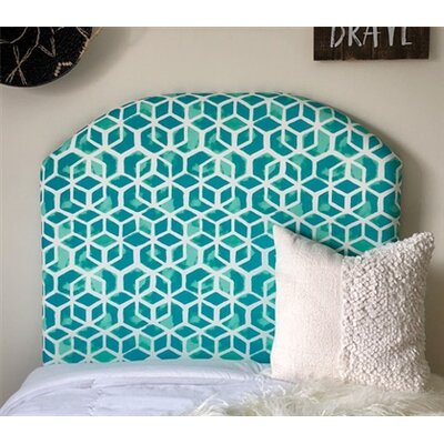 Housley Twin/Twin XL Upholstered�Panel Headboard in , Arched