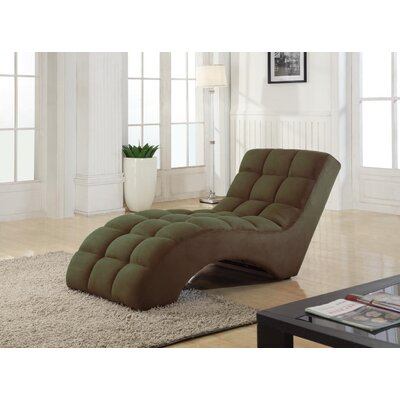 Chaise Lounge Upholstery: Coffee