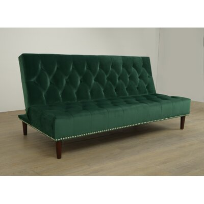 Convertible Sofa Upholstery: Peacock