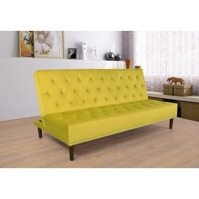 Convertible Sofa Upholstery: Canary