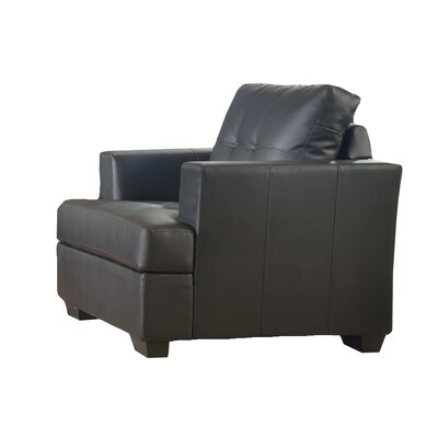 Karishma Lounge Chair Color: Black