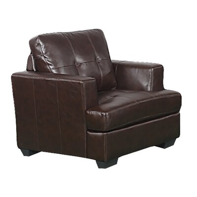 Karishma Lounge Chair Upholstery: Brown