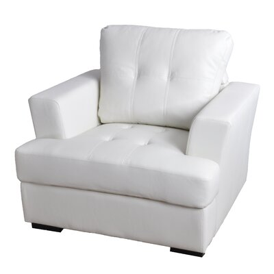 Lainey Armchair Upholstery: White