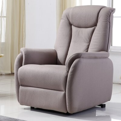 Anton Power Medium 3 Position Lift Chair Upholstery: Taupe Beige