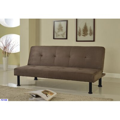 Moorhouse Convertible Sofa Upholstery: Brown