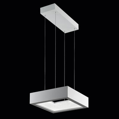 ReveaLED Open 18-Light LED Kitchen Island Pendant Base Finish: Glimmer Silver, Color Temperature: 4000K