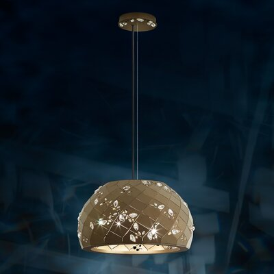 Apta 2-Light Inverted Pendant Base Finish: Black