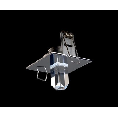 StarLED Deluxe 1-Light Close to Ceiling Delta Crystal Component Low Bay
