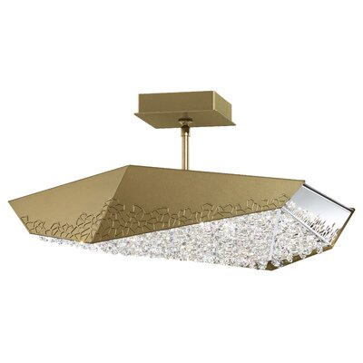 Glyph 6-Light LED Kitchen Island Pendant Base Finish: Bronze, Color Temperature: 3000K
