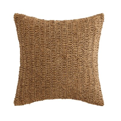 Alva Decorative Cotton Throw Pillow in Raffia Kint