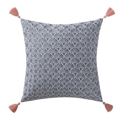 Alparra Decorative Scallop Cotton Throw Pillow