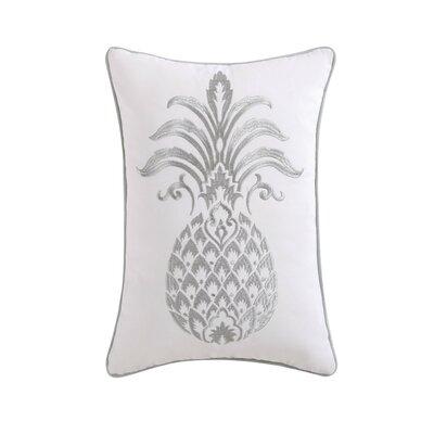 Java Pineapple Decorative Cotton Lumbar Pillow