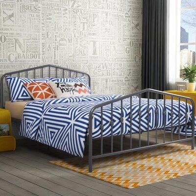 Bushwick Queen Platform Bed Color: Gray (Frame)