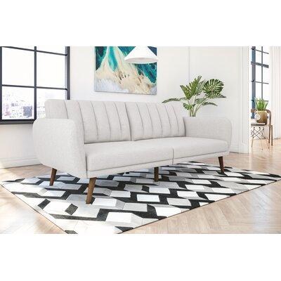 Novogratz Brittany Convertible Sofa Upholstery: Grey