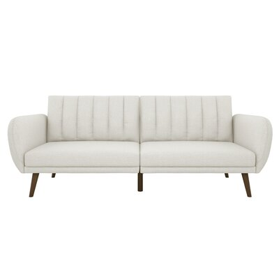 Brittany Convertible Sofa Upholstery: Gray