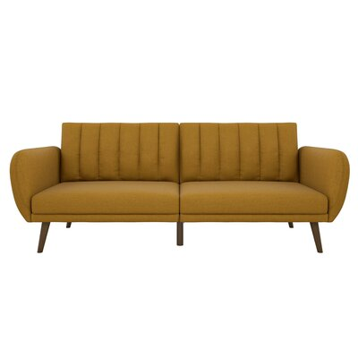Brittany Convertible Sofa Upholstery: Mustard