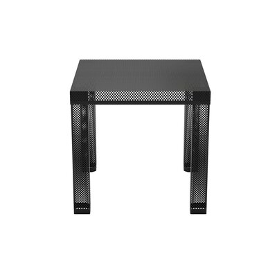 Iconic Metal End Table Finish: Black