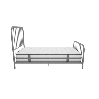 Bellamy Metal Platform Bed Size: Twin, Color: Gray