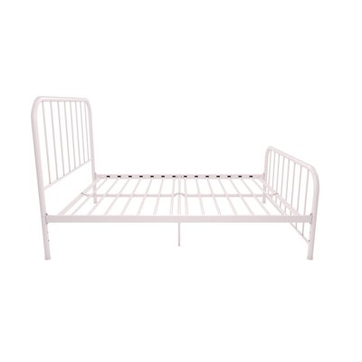 Bellamy Metal Platform Bed Size: Twin, Color: Pink