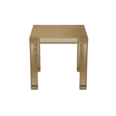 Iconic Metal End Table Finish: Gold