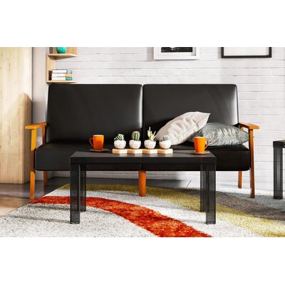 Iconic Metal Coffee Table Finish: Black