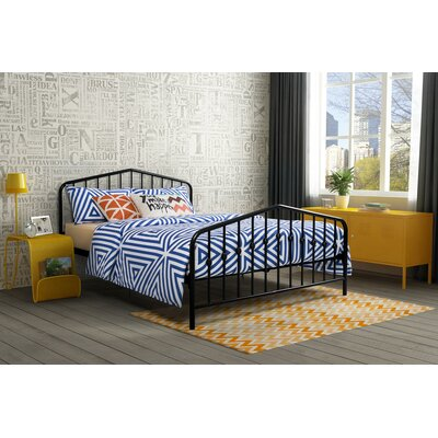 Bushwick Queen Platform Bed Color: Black (Frame)