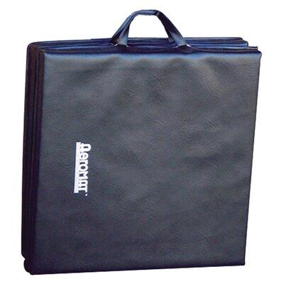 "Deluxe Folding Mat Size: 1.5"" H x 96"" W x 48"" D"
