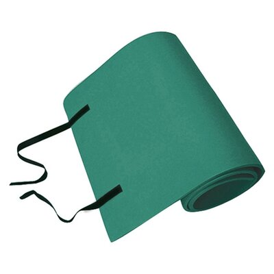 Elite Smooth Surface Mat with Velcro Strap Color: Green