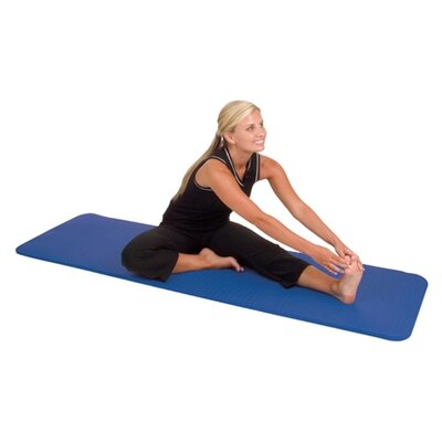 Elite Y14-2472 Yoga / Pilates Mat with Strap Color: Pastel Teal