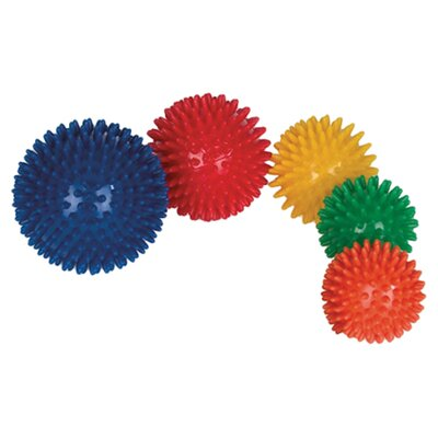 "Massage Ball Color / Size: Red / 3.54"" Diameter"