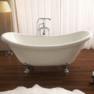 Nova 30 x 67 Freestanding Soaking Bathtub