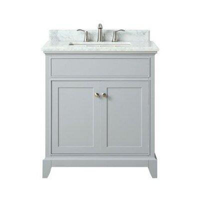 Bhushan Marble Top 31 Single Bathroom Vanity Set
