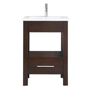 Cowart Vitreous China Top 25 Single Bathroom Vanity Set