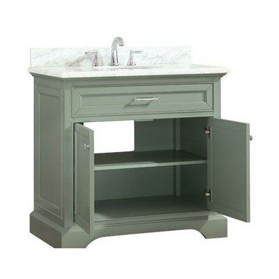 Valentia Marble Top 37 Single Bathroom Vanity Set