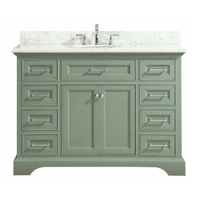 Valentia Marble Top 49 Single Bathroom Vanity Set