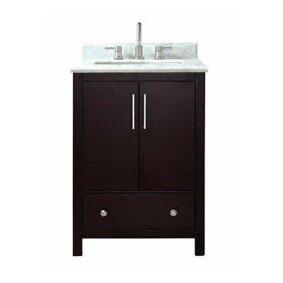 Pergamon Marble Top 25 Single Bathroom Vanity Set