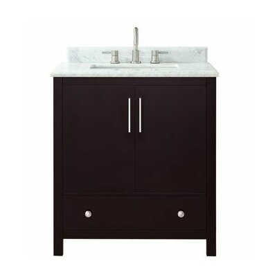 Pergamon Marble Top 31 Single Bathroom Vanity Set