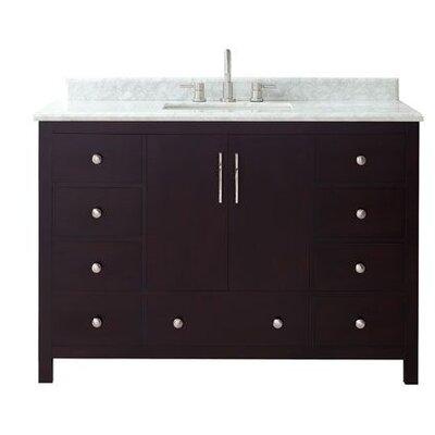 Pergamon Marble Top 49 Single Bathroom Vanity Set